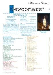 Newcomers' Guide - Brussels American School