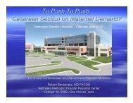 Handouts To Posh To Push - Perinatal Center of Iowa