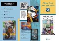 Year 9 & 10 - Visual Arts - Albany Creek State High School