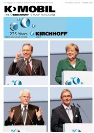 225 Years - Kirchhoff Group
