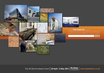 The UK Stone Industry Event 30 April - Natural Stone Show
