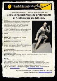 Corso di specializzazione professionale di Scultura per ... - Orco Nero