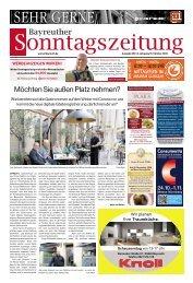 Bayreuther Sonntagszeitung 2020-10-18
