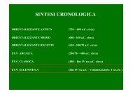 organizzazioe degli spazi funerari - Liceo Statale C. Montanari