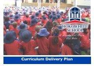 Curriculum Delivery Plan - Hokowhitu School