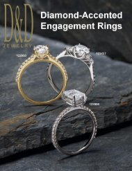 Customizable Diamond-Accented Engagement Rings