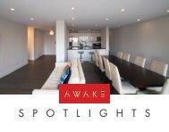 AWAKE Spotlights: recessed lighting system for concrete ceilings