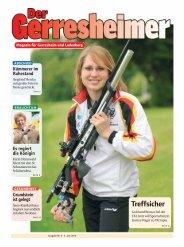 Ihre Anzeige im Gerresheimer - Panorama-Online