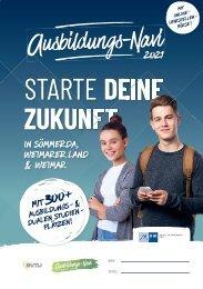Ausbildungs-Navi für Sömmerda, Weimarer Land und Weimar 2021