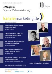 eMagazin kanzleimarketing.de 2/2020: Spezial Videomarketing
