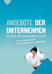 Ausbildungs-Navi für Hildburghausen und Sonneberg 2021 Anzeigenteil