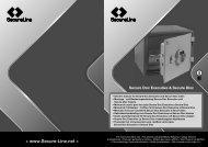 SecureLine Secure Doc Executive Safes Manual - The Safe Shop