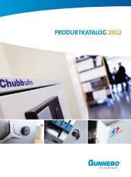 WILLKOMMEN BEI GUNNEBO Produktkatalog 2012