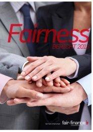 Fairnessbericht 2013