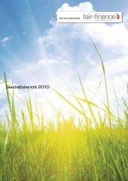 FairFinance_Geschaeftsbericht_2010