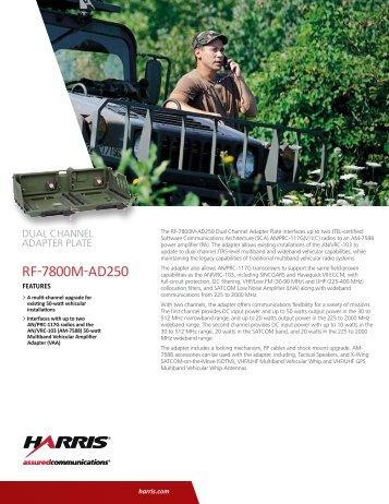 Harris prc 117g user manual