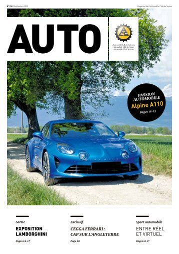 Magazine de l'Automobile Club de Suisse 5/2020