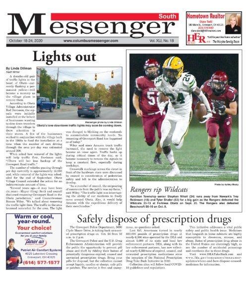 South Messenger - October 18, 2020
