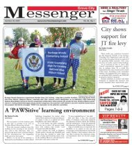Grove City Messenger - October 18th, 2020