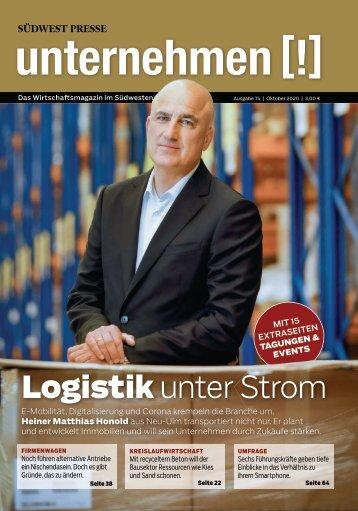 2020 unternehmen [!] Magazin Ausgabe 74 Oktober 2020