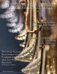 NC Music Educator Winter 2020