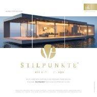 STILPUNKTE Lifestyle Guide Ausgabe 18 Ruhrgebiet - Herbst/Winter 2020