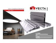 VECTA PROFILES: the hidden art of stretch ceiling & lighting design