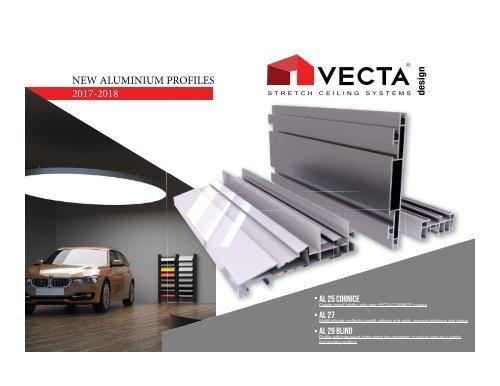 VECTA PROFILES: the hidden art of stretch ceiling & lighting design