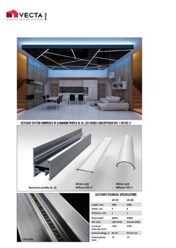 VECTA KEY LIGHT: Ultra-Modern Linear LED Lighting