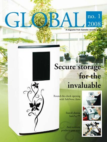 Secure storage for the invaluable - Gunnebo