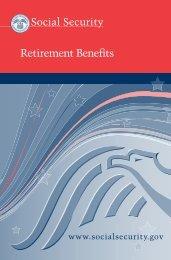 Retirement Benefits - Social Security