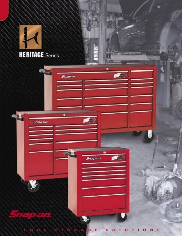 "The Heritage Plus 53"" Triple Bank - Snap-on"