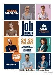Das MesseMagazin zur 13. jobmesse kiel