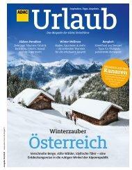 ADAC Urlaub November-Ausgabe 2020 Württemberg