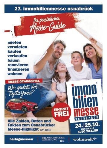 Der MesseGuide zur 27. immobilienmesse osnabrück 2020