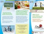 IBEW Local 37 Health, Wellness & Benefits