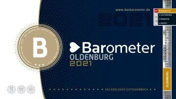 BAROMETER OLDENBURG   Limitierte Ausgabe 2021