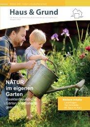 Haus & Grund Wolfsburg und Umgebung e.V. Ausgabe 2/2020 April