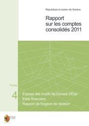 2. États financiers - Etat de Genève