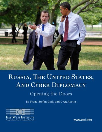 Russia, the United States, and Cyber Diplomacy