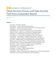 Cloud Services Privacy and Data Security Task Force Committee ...