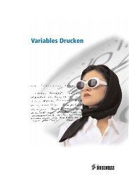 Variables Drucken Die innovative Dienstleistung - Pro Business GmbH