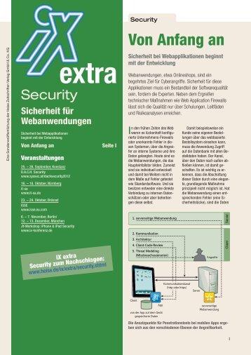 Von Anfang an - SecureNet GmbH
