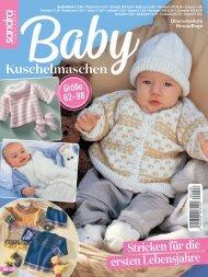 Sandra Sonderheft SA126 - Baby Kuschelmaschen