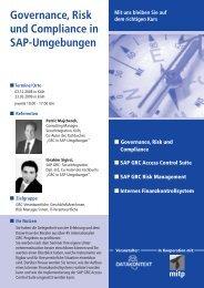 Governance, Risk, Compliance - Datakontext