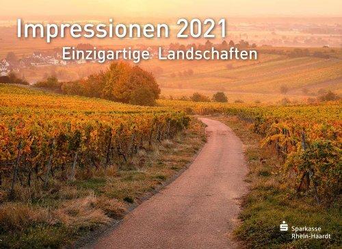 Bildkalender der Sparkasse Rhein-Haardt 2021