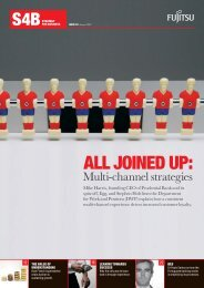 ALL JOINED UP: - Fujitsu