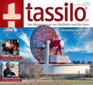 tassilo - das Magazin rund um Weilheim und die Seen - Ausgabe November/Dezember 2020
