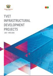 TVET INFRASTRUCTURE PROJECTS