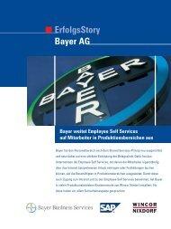 ErfolgsStory Bayer AG - SecurIntegration